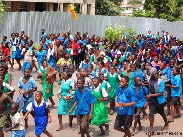 Students Call for Schools to Reopen - Photo Nyasa Times