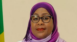 Tanzania's New President Samia Suluhu Hassan - Photo Cowry News