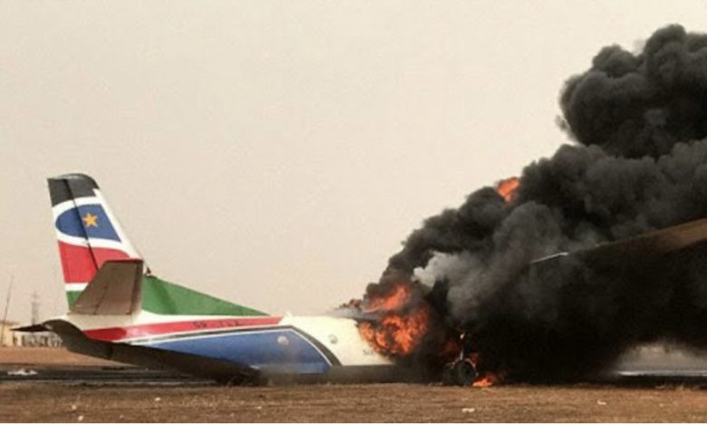 Ten Killed in Plane Crash in South Sudan - Photo Entebbe News
