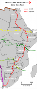 The Cairo to Cape Road
