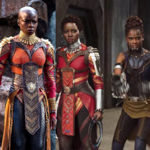 Some of the Sheroes of Black Panther