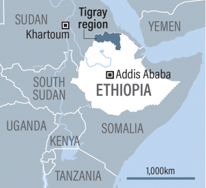 Tigray Region - Source The National