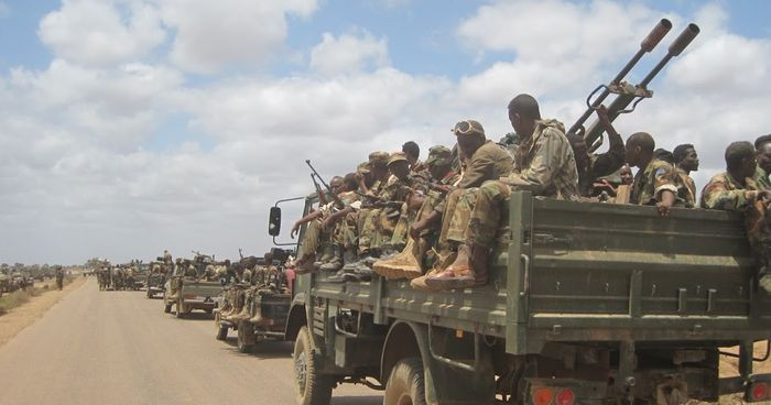 Troops in Ethiopia's Eritrea - Photo Arise News