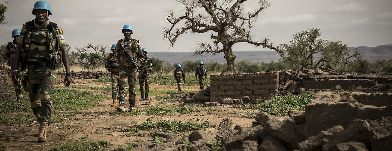 UN Peacekeepers Patrol in Central Mali - IPI Global Observatory