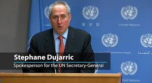 UN Spokesperson Stephane Dujarric - Photo The Fortress
