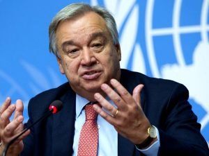 UNSG Antonio Guterres - Photo Maseru Metro News