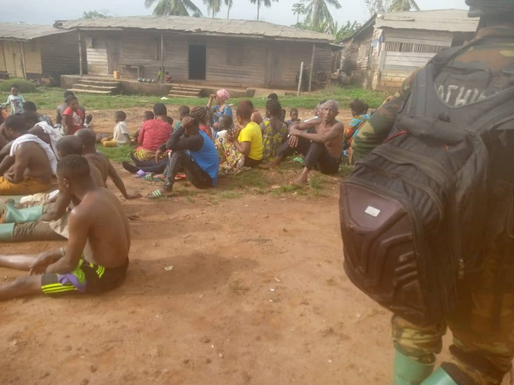 Victims of the Mbonge Massacre Just Minutes Before their Extrajudicial Execution by Biya Forces