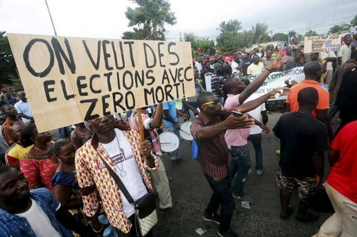 We Want Elections that lead to Zero Deaths - Photo Human Rights Watch