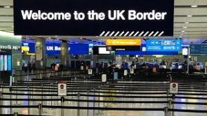 Not Everyone is Welcomed to the UK Border Sign - Photo Euronews
