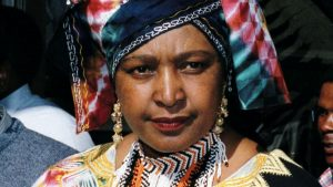 Winnie Mandela - Photo The Times