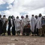 Women Mourn Loved Ones in Tigray - Photo Yahoo News