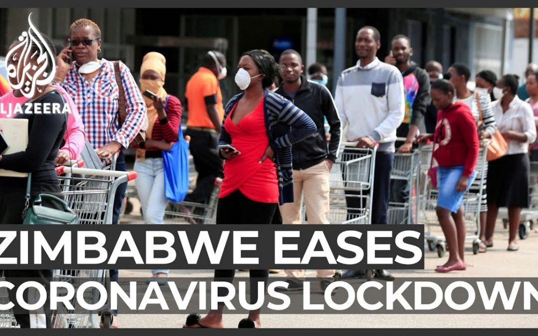 Zimbabwe Relaxes COVID-19 Restrictions - YouTube ScreenShot