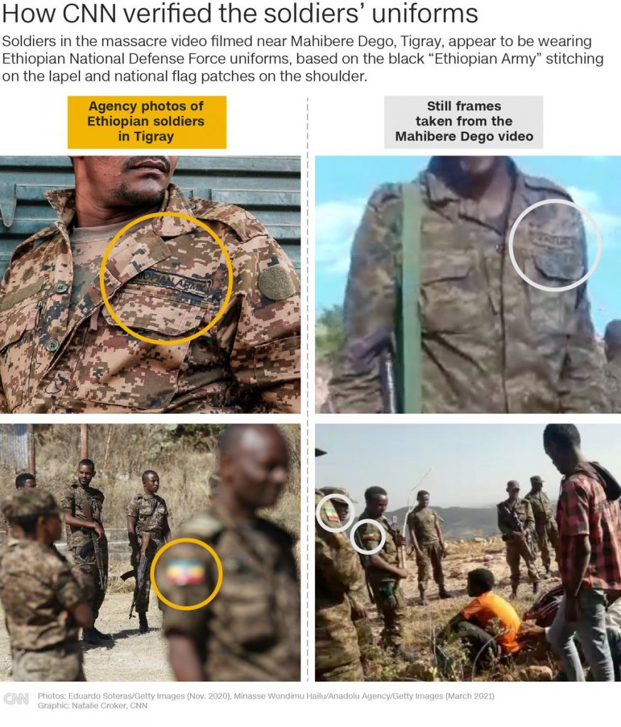 A CNN Investigation Also Linked Ethiopian Soldiers to the Massacre