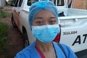 A Nurse, One of Madagascar's Frontline Workers - Photo UNICEF