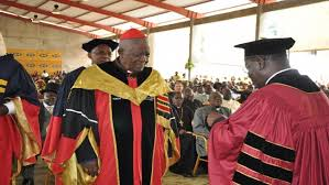 Cardinal Tumi Made Doctor Honoris Causa of the Catholic University of Yaound ein 2016 - Photo Cameroon Concord News