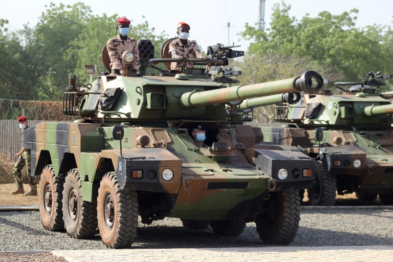 Chadian Troops Headed to Northern Border - Photo Barron's