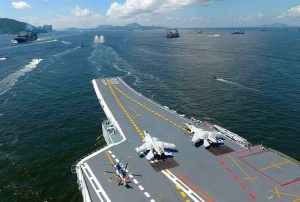 Chinese Aircraft Carrier in the Indian Ocean - Photo Swarajya