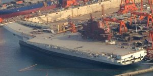 Chinese First Aircraft Carrier - Photo Wired