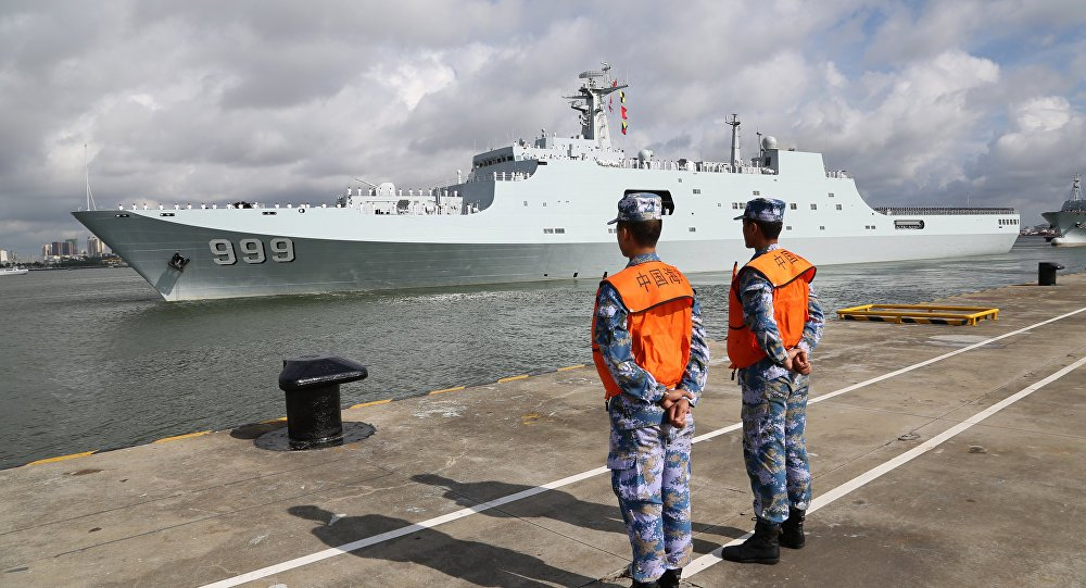 Chinese Naval Base in Africa can Hold Chinese Aircraft Carrier - Photo USNI News