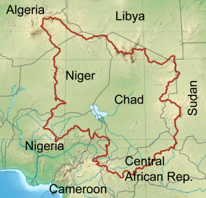 Countries of the Chad River Basin