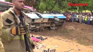 Fifteen Killed in Road Accident - Photo YouTube ScreenGrab