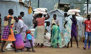 Food Insecurity in South Sudan - Photo The Guardian