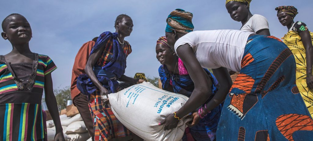Laying Hands on Any Food Assistance - Photo UN News