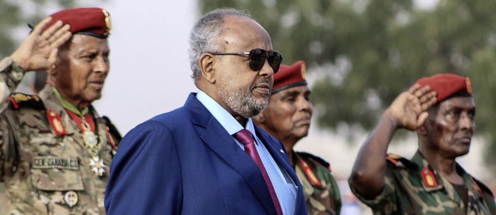 Omar Guelleh during 41st Anniversary of Independence on 27 June 2018 - Photo Houssein Hersi , AFP