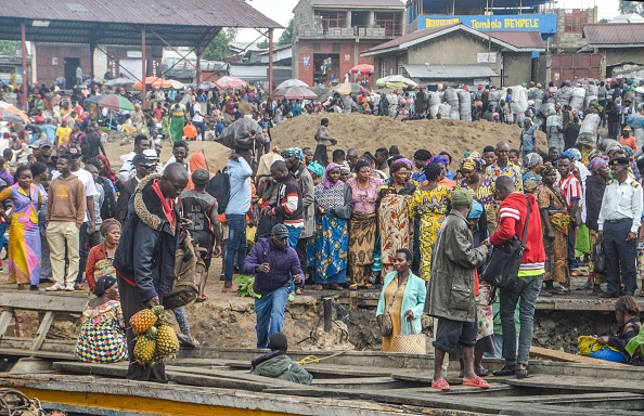 DR Congolese Pictured Near a Market in Goma - Photo JC Wenga, Anadolu Agency via Getty Images