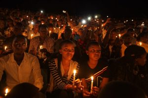 Paying Tribute to the Victims of the 1994 Rwanda Genocide - Photo Wyoming Tribune Eagle