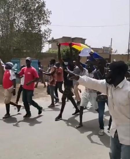 Peaceful Opposition Protests Blindly Repressed in Violence - Photo Human Rights Watch