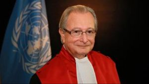 President Judge Carmel Agius - Photo TVM