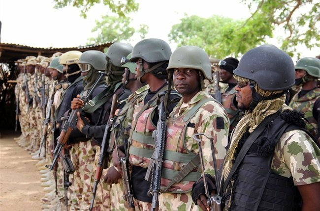 Remains of Eleven Soldiers Found - Photo News24