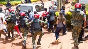 Security Forces Chase After Opposition Supporters - Photo The East African