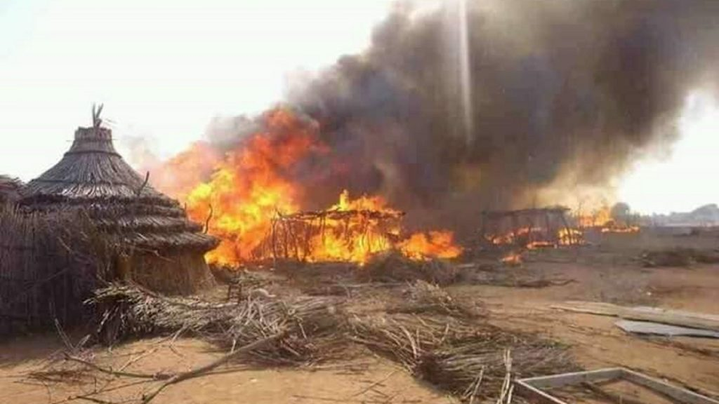 Slash and Burn Tactics Uesd by Armed Groups in Western Darfur