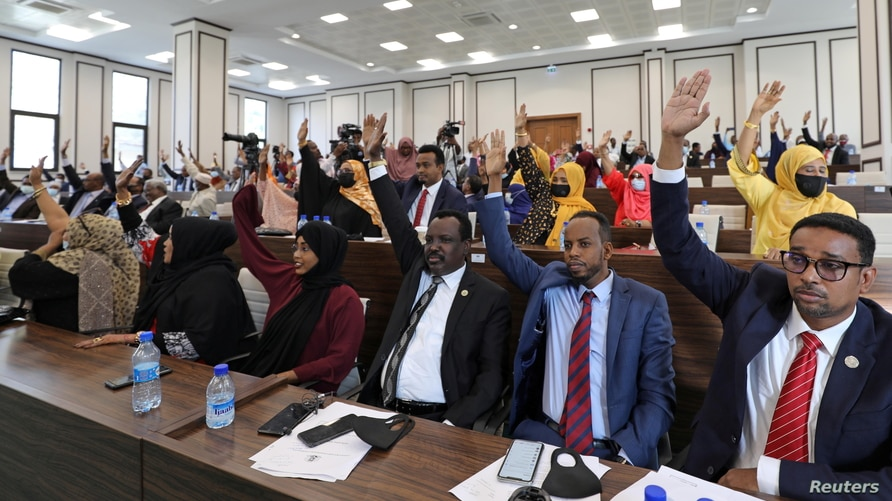 Somali Lower House Votes Overwhelmingly to Extend Presdiential Terms by Two Years - Photo Voice of America