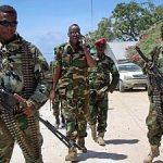 Somali Soldiers in the Streets of Mogadishu - Photo Afrca News