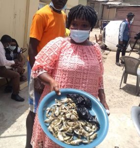 Some Ghanaians Confessed they Ate the Dead Fish - Photo Ghana Business News