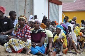 Some of the Displaced Too Hungry to Find the Strength to Flee Violence - Photo WFP