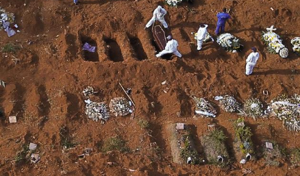 South Africa Accounts for 52 Percent of All COVID-Related Deaths in Africa - Photo SABC News