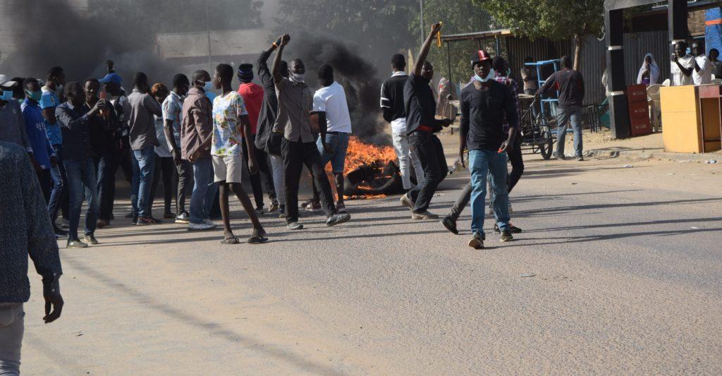 Thousands Demonstrate in Chad Against Military Rule - Photo Voice4Thought