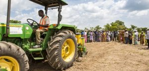 Uber Tractors Coming to Somewhere Near Many African Farmers - Photo The John Deere Journal