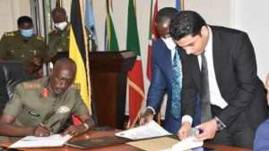 Uganda and Egypt Sign Security Deal - Photo The New Arab