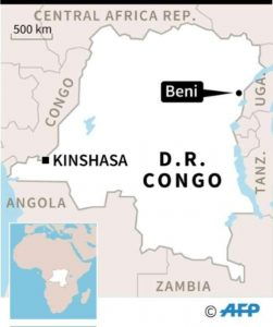 Beni DR Congo - Source AFP