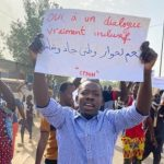 Chadians Demonstrate Against Military Rule - Photo AllAfrica