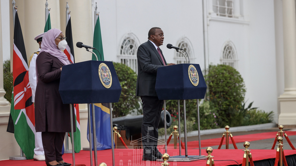 Kenya and Tanzania Agree to Clear Trade Barriers - Photo CGTN