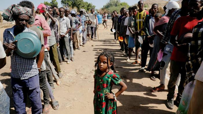 Millions Face Malnutrition in Tigray - Photo Financial Times