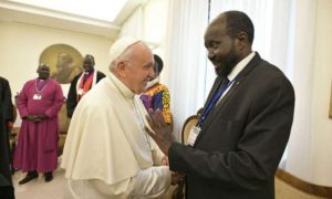 Pope Francis Has Invested in Peace in South Sudan - Photo Catholic News Agency