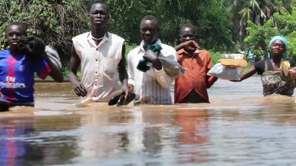 Residents Flee as the Waters of Lake Tanganyika and Surrounding Rivers Rise - Photo News For Kids