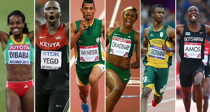Some of Africa's Top Athletes - Photo Making of Champions